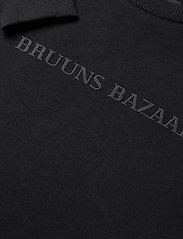 Bruuns Bazaar - Birk Crew Neck - sweats - black - 2