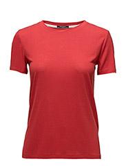 Katka ss T-shirt - SCARLETT RED
