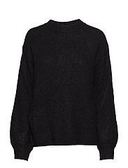 Alma Ulrikke Pullover - BLACK