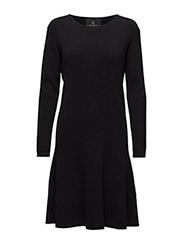 Shella Lisa knit dress - BLACK