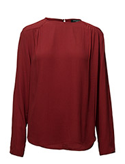 Liva Mona blouse - DARK WINE