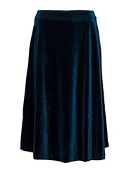 Vera Linda skirt - MIDNIGHT PETROL
