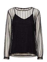 Sofistina Sollie blouse - BLACK