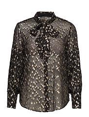 Laura Stina shirt - BLACK/GOLD
