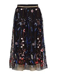 Tulla Malina Skirt - EMBRODED MESH