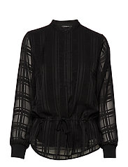 Freya Elise Shirt - BLACK CHECK