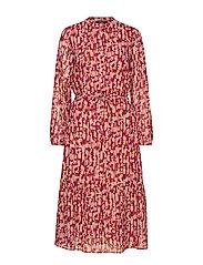 Structure Tessa Dress - RED RUST - STRUCTURE ARTWORK