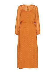 Mariah Gloria Dress - SUNDAN BROWN