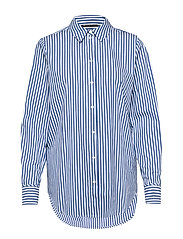 Rebekka Felina Shirt - INDIGO/WHITE STRIPE