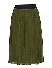 Thora Violet Skirt - GREEN PINETREE