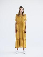 Bruuns Bazaar - Marie Silje dress - summer dresses - orange glow - 0