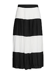 Alia Carmen skirt - BLACK W WHITE