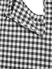 Bruuns Bazaar - Seer Adelaia blouse - bluzki krotkim rekawem - black/white check - 3