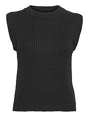 Daylily Rosmine knit top - BLACK