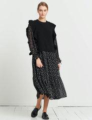 Bruuns Bazaar - Simona Innea knit vest - knitted vests - black - 0