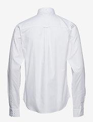 Bruuns Bazaar - Anthonys NY Stretch Oxford Shirt - chemises basiques - white - 1