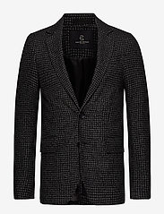 Bruuns Bazaar - Andrew Karl blazer - blazers à boutonnage simple - black check - 0