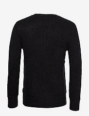 Bruuns Bazaar - Chris Crew Neck - tricots basiques - black - 1