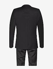 Bruuns Bazaar - Karl Suit - costumes simple boutonnage - black - 1