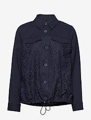 Bruuns Bazaar - Abelina Camil jacket - lichte jassen - night sky - 2