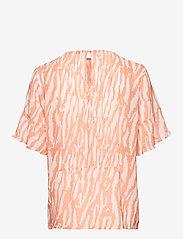 Bruuns Bazaar - Gloss Juliet top BZ - blouses à manches courtes - gloss artwork - 1