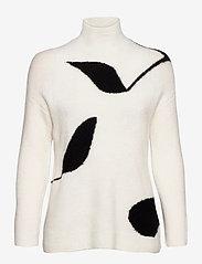 Bruuns Bazaar - Holly Melody pullover - turtlenecks - snow white - 0
