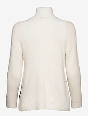 Bruuns Bazaar - Holly Melody pullover - turtlenecks - snow white - 1