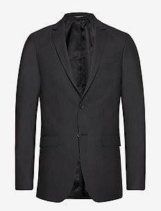 Karl Blazer - single breasted suits - black