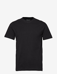 Gustav T-shirt - basic t-shirts - black