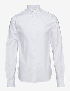 Anthonys NY Stretch Oxford Shirt - basic overhemden - white