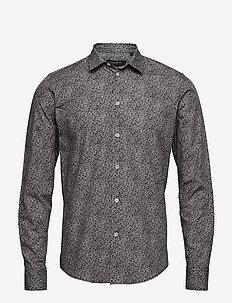 Elliot shirt - GREY MULTI CIRCLE AOP