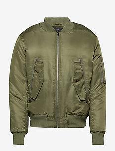 Hero bomber - bomber jackets - burnt olive