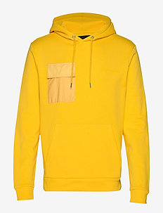 Bertel Utility Sweat - basic sweatshirts - bright yellow