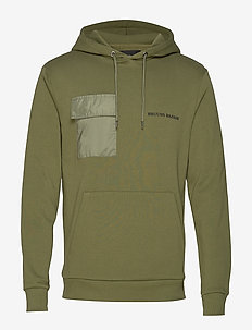 Bertel Utility Sweat - basic sweatshirts - sage green