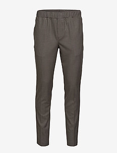 Asfred Clark Pant - casual broeken - soil brown check
