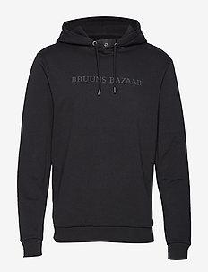 Bertil hoodie - BLACK
