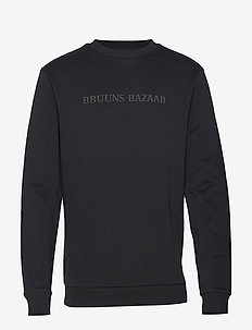 Birk Crew Neck - sweatshirts - black