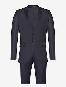 Karl Suit - single breasted suits - dark navy