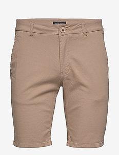 Dennis Poul shorts - ROASTED GREY