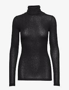 Angela Roll neck - pologenser - black