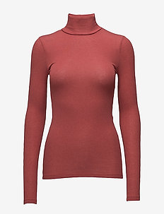 Angela Roll neck - rullekraver - scarlett red