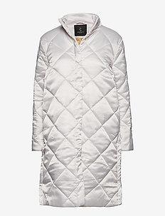 Ava Lulu Coat - padded coats - petit pink