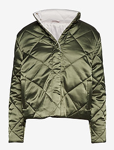 Ava Carly Jacket - BURNED OLIVE