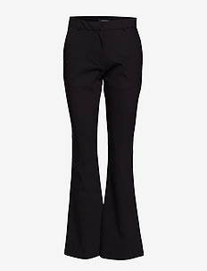 Lynn Jenny Pant - wide leg trousers - black