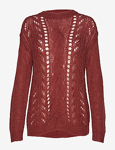 Bella Kass Knit - BROWN BORDEAUX