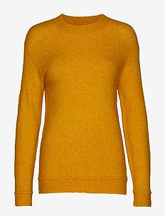 Holly Johanne Pullover - jumpers - golden sun