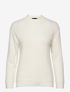 Holly Johanne Pullover - jumpers - snow white