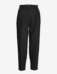 Cindy Dagny Pant - straight leg trousers - black
