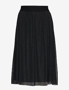 Thora Violet Skirt - BLACK