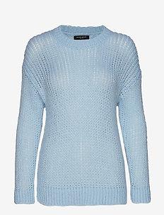 Sirih Alpha knit - jumpers - sky blue